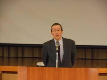 写真:三浦、県民会議会長・あいさつ
