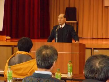 写真:市町村民会議の活動発表・報告1